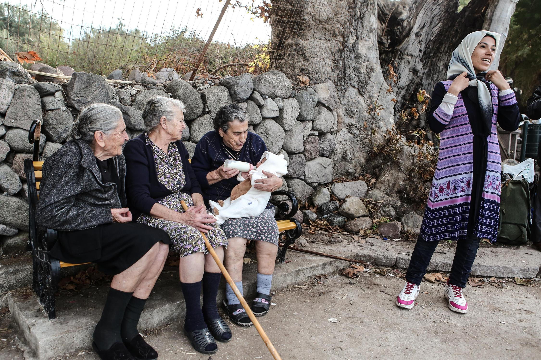 Lesbos, Greece on October 17, 2015. / Λέσβος, 17 Οκτωβρίου 2015.