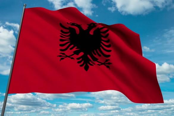 albanianflagpepecon